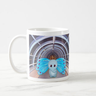 Elephant Butterfly Coffee Mug