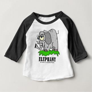 Elephant by Lorenzo © 2018 Lorenzo Traverso Baby T-Shirt