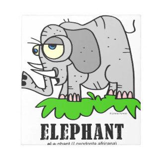 Elephant by Lorenzo © 2018 Lorenzo Traverso Notepad