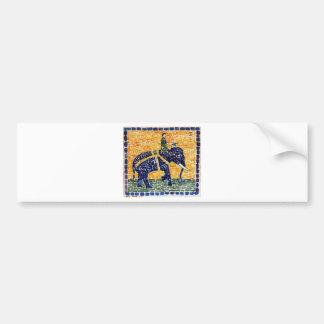 Elephant by Maurice Prendergast Bumper Sticker