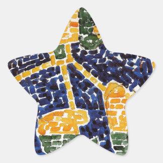 Elephant by Maurice Prendergast Star Sticker