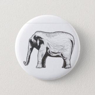 Elephant By MODAFODA - FIASCO 6 Cm Round Badge