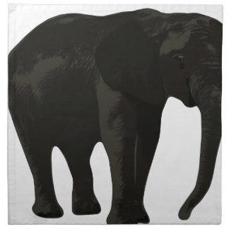 Elephant Cartoon Napkin