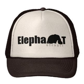 Elephant Circuit Trucker Cap