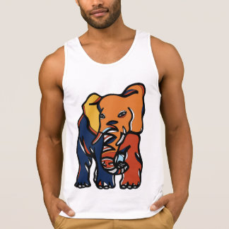 """Elephant Colorful"" Men's Tank Top"