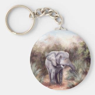 Elephant COMING THROUGH Keychain