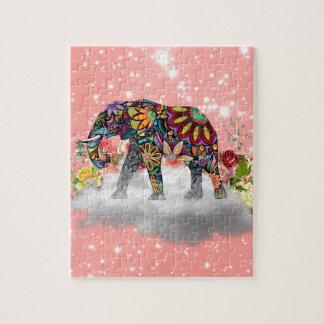 Elephant commands it jigsaw puzzle