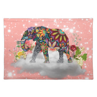 Elephant commands it placemat