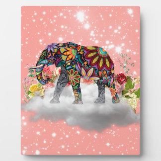 Elephant commands it plaque