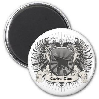 Elephant Crest Magnet