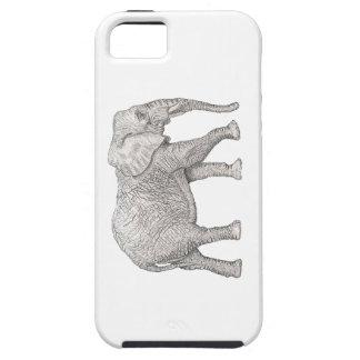 Elephant cut iPhone 5 case