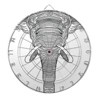 elephant dartboard