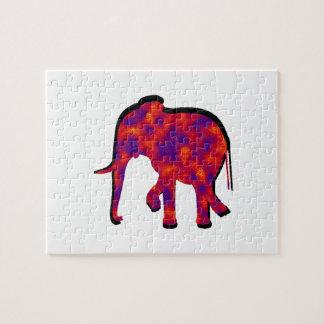 Elephant Daze Jigsaw Puzzle