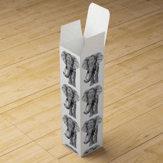 Elephant Design Wine Box