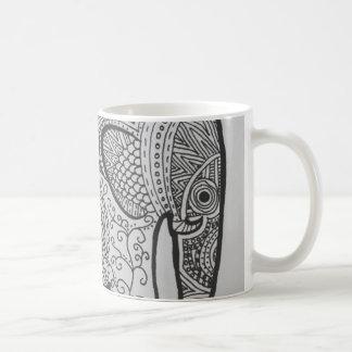 Elephant Doodle Mug