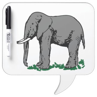 Elephant Dry-Erase Whiteboard
