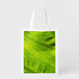 Elephant Ear Taro Reusable Bag