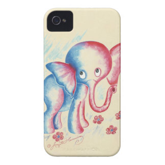 elephant elephants cute funny gifts+for+kids eleph iPhone 4 case