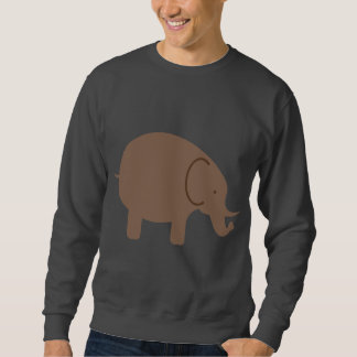 Elephant Elephants Pachyderm Cute Cartoon Animal Sweatshirt