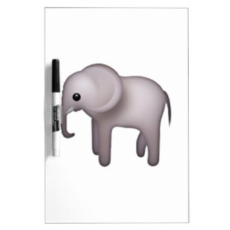 Elephant - Emoji Dry-Erase Whiteboards