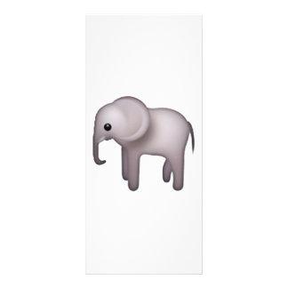 Elephant - Emoji Rack Card
