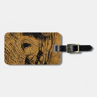 Elephant Eye Bag Tag