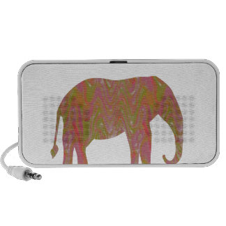 ELEPHANT: Fantasy Artistic Color Shade: lowprice Laptop Speaker