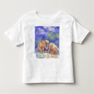 Elephant friendship bonding toddler T-Shirt