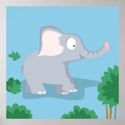 Elephant  from my world animals serie print