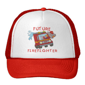 Elephant Future Firefighter T-shirts and Gifts Trucker Hat