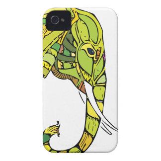 Elephant graphic design Case-Mate iPhone 4 case