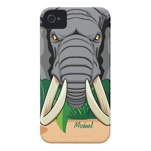 Elephant Head Look Blackberry Bold Case