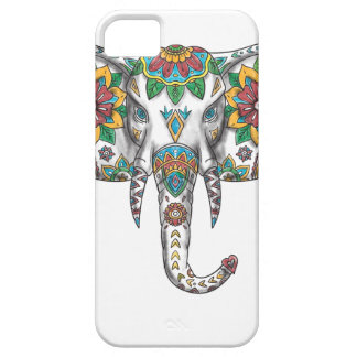 Elephant Head Mandala Tattoo Barely There iPhone 5 Case