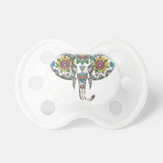 Elephant Head Mandala Tattoo Dummy