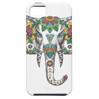 Elephant Head Mandala Tattoo iPhone 5 Cover