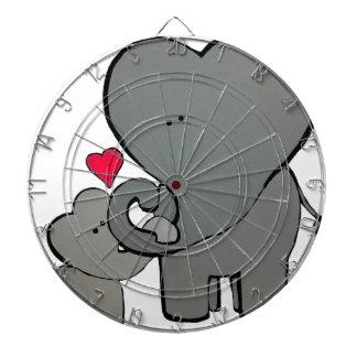 Elephant Hearts - An Unforgetable Love Dartboard