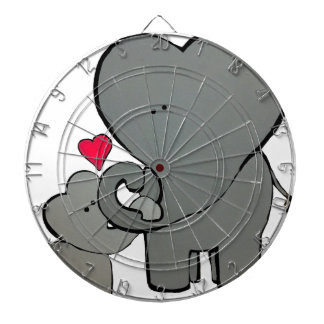 Elephant Hearts - An Unforgetable Love Dartboard With Darts