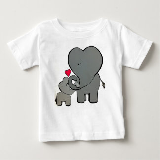 Elephant Hearts - An unforgettable love. Baby T-Shirt