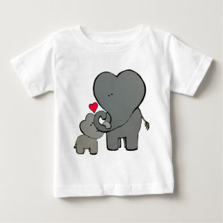 Elephant Hearts - An Unforgettable Love Baby T-Shirt
