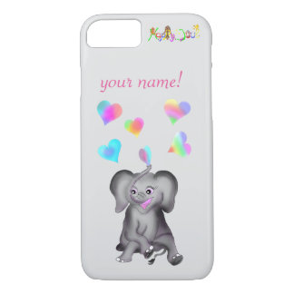 Elephant Hearts by The Happy Juul Company iPhone 8/7 Case