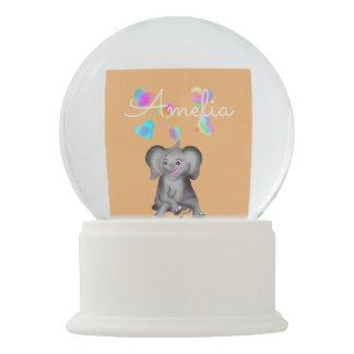 Elephant Hearts by The Happy Juul Company Snow Globe
