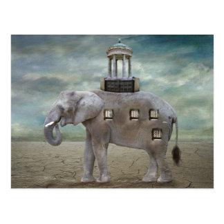Elephant Hotel Postcard