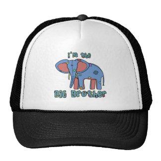 Elephant I'm the Big Brother Cap