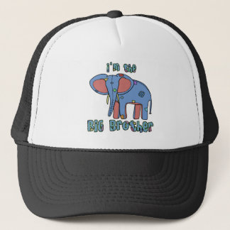 Elephant I'm the Big Brother Trucker Hat