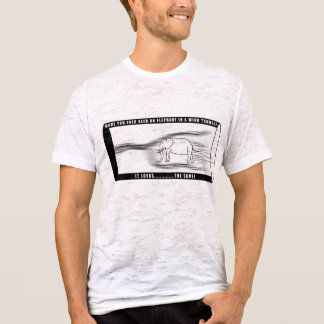 Elephant in a wind tunnel T-Shirt