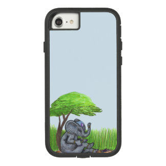 Elephant in Jewels sitting in Phone Case