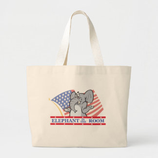 Elephant In The Room Political Bags