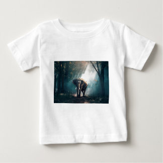 Elephant In The Savannah Baby T-Shirt