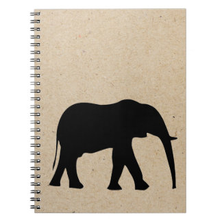 elephant ink stamped journal