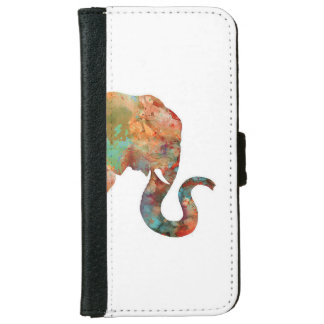 Elephant Iphone Wallet case iPhone 6 Wallet Case